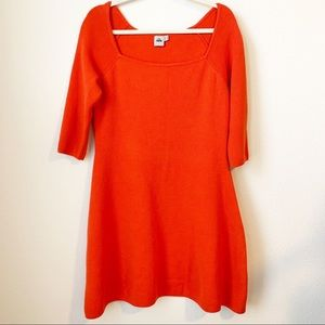 ASOS Size 10 3/4 Sleeve Sweater Dress